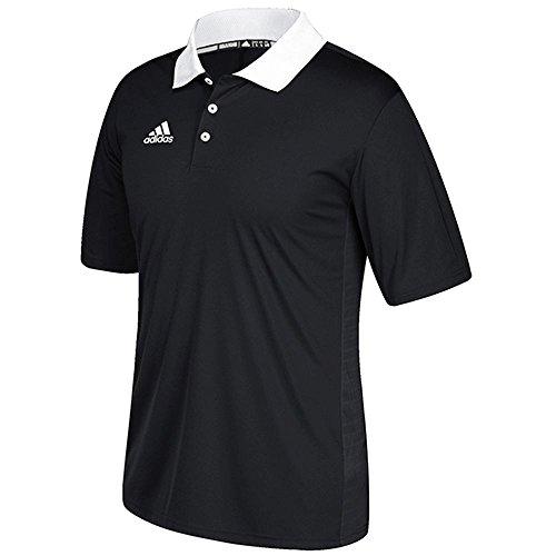 Polo Da Gioco Adidas Realizzata In Nero-bianco