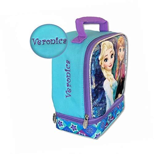 Personalized Licensed Lunch Bag (Frozen) (Disney Frozen Lunch Box)