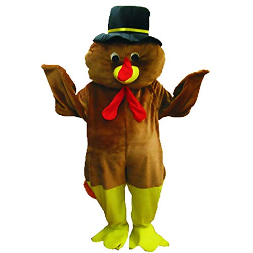 Thanksgiving Turkey Adult Mascot Costumes - Dress Up America Thanksgiving Turkey Mascot,