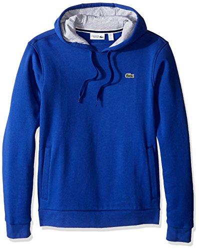 Lacoste Mens Sport Pull Over Hoodie Fleece Sweatshirt, SH2128