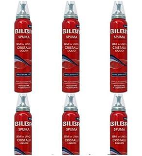 6 X Spuma per Capelli BILBA Tenuta Extra Forte Semi di lino e Cristalli  Liquidi f16a9a084a8c