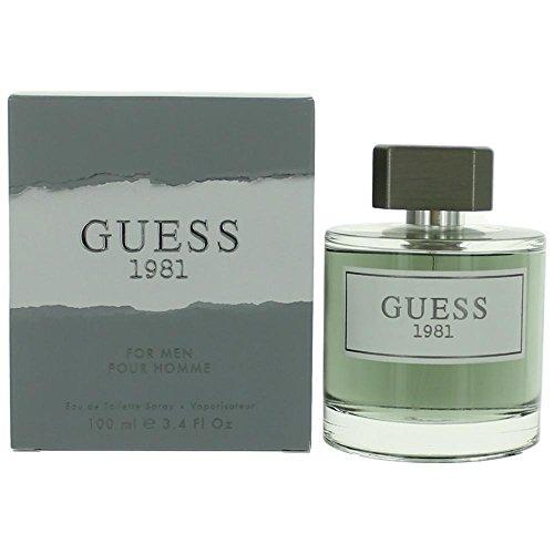 Guess Fragrance 1981 Eau De Toilette for Men, 3.4 Fluid Ounce