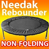 Needak Mini-Trampoline Rebounder-R02 -Soft Bounce- Black Non-fold