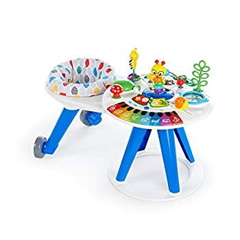 Image of Baby Baby Einstein Around We Grow 4-in-1 Walk Around Discovery Activity Center Table, Ages 6 Months +