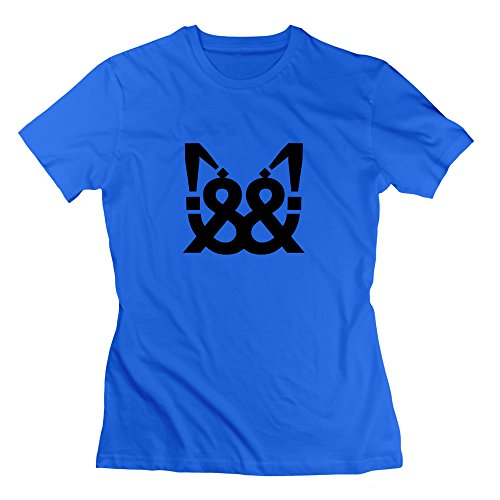 L572 Helveticat T-Shirt For Woman L RoyalBlue by L572