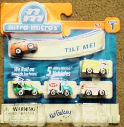 Micro Machines Toy Cars - Nitro Micro Machine Cars Series 1 5 Assorted Styles [Toy]