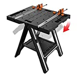 Image of Folding Sawhorse: Worx Pegasus WX051 Work Table and Sawhorse