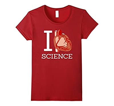I Love Science I Heart Science Funny Shirt