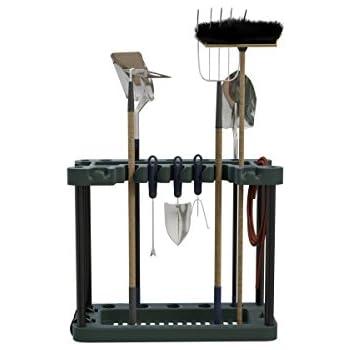 Amazon.com : stalwart rolling garden fits 40 tools storage rack