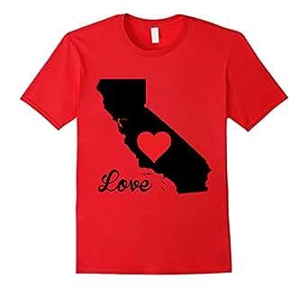 Mens California Love 2XL Red