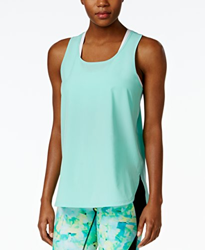 Atlantic Tank Top - Calvin Klein Women's Performance Active Tank Top (Medium, Atlantic Blue)