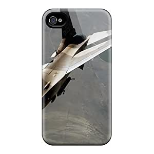DreqEho4869tmPbR An F 16 Fighting Falcon During A Red Flag Exercise Fashion Tpu 4/4s Case Cover For Iphone by supermalls
