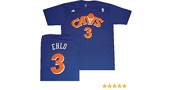 c62193424 Amazon.com  adidas Cleveland Cavaliers Craig Ehlo Throwback Hardwood  Classics Blue Shirt  Sports   Outdoors