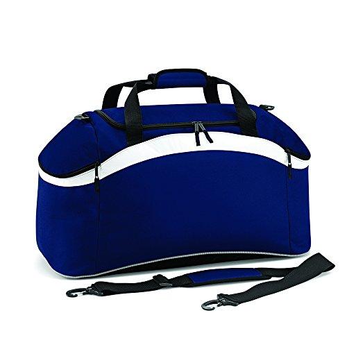 BagBase Teamwear–Bolsa French Navy/ White