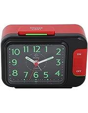 ساعة منبه من دوجانا، احمر واسود، DA202