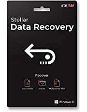 Stellar Data Recovery Software | For Windows | Standard | Recover Deleted Data, Photos, Videos, Emails | 1 PC 1 Yr | Activation Key Card