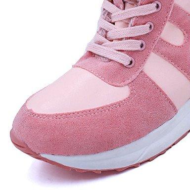WSX&PLM Da donna-Stivaletti-Casual-Comoda-Basso-PU (Poliuretano)-Nero Rosa , pink , us7.5 / eu38 / uk5.5 / cn38