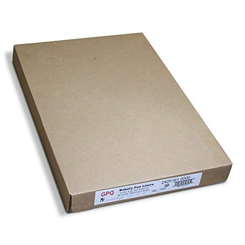 Pan Liners for Commercial Baking Bulk - 1000 Count - Full Sized 16.38