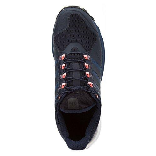 Adidas Performance Women's Raven W Running Shoe Mineral Blue, Night Navy, Sun Glow