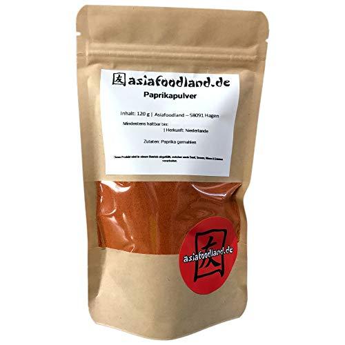 Asiafoodland - Paprikapulver - rot, 1er Pack (1 x 120g)