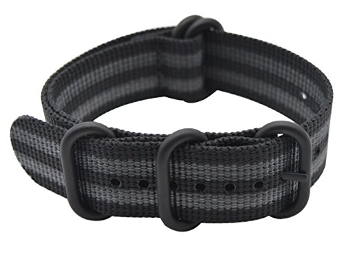 Image of ArtStyle Watch Band with Ballistic Nylon Material Strap and High-End