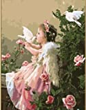 Greek Art Paintworks Paint Color By Number,Angel,16-Inch by 20-Inch