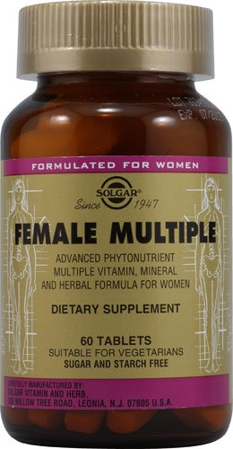 Solgar Female Multiple Tablets, 60 Count