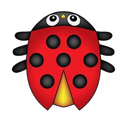 Ladybug Micro Kite: Toys & Games