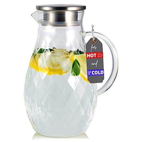 Borosilicate Glass Pitcher with