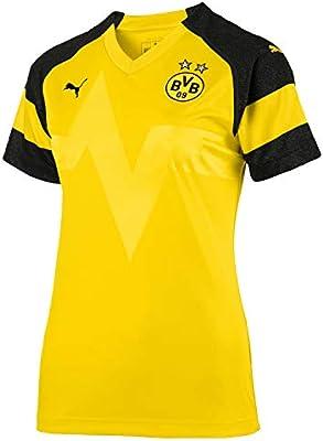 Puma Borussia Dortmund Home Camiseta 2018 2019 Mujeres Camiseta ...