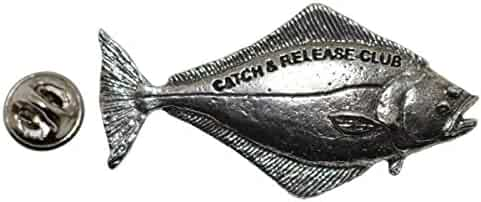 P426 Rainbow Trout 25 Club Pewter Lapel Pin Fishing Trophy Jewelry