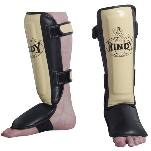Windy Pro Shin Instep Guard, - Shin Pro Instep Guards Leather