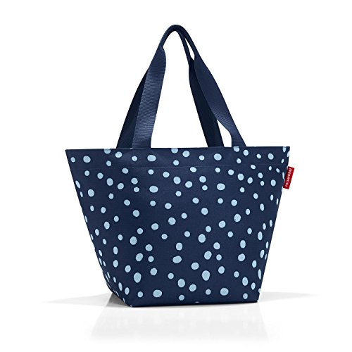 reisenthel Shopper M, Medium Everyday Tote Bag, Spots Navy ()
