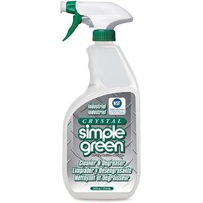 Simple Green 19024 Crystal Industrial Cleaner/Degreaser, 24oz Bottle