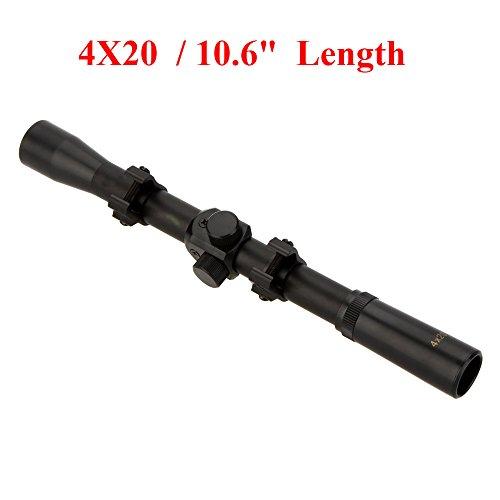 4X20 Air Rifle Telescopic Scope Sights Riflescopes Hunting Scopes Riflescope for 22 Caliber Rifles and Airsoft Guns