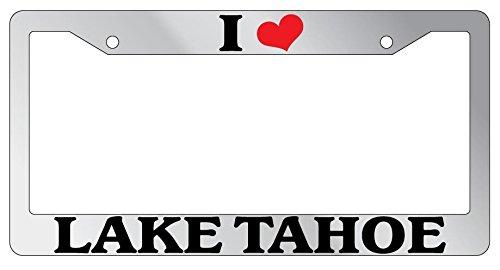 lake tahoe license plate frame - 9