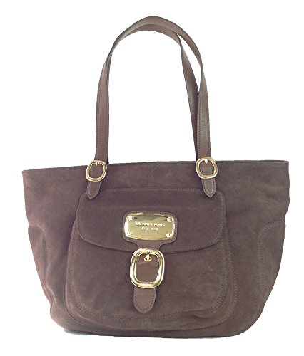 Michael Kors Hudson Downtown Suede Leather Large Tote, ()