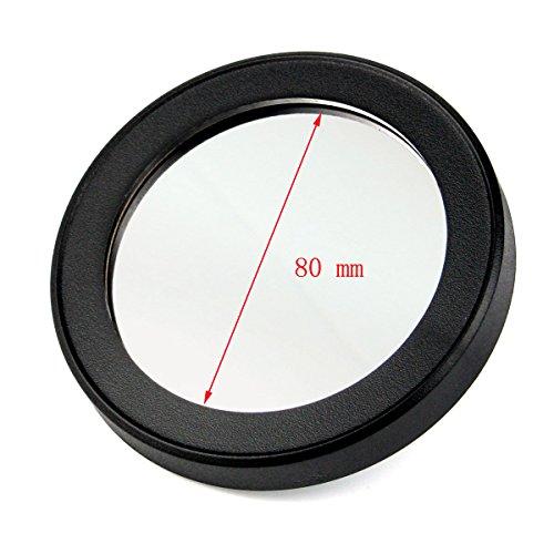 Solomark 80mm Solar Filter, Baader Planetarium Film, for 80 mm Celestron Aperture Telescope Plastic