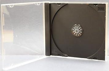 Amazon.com: Americopy 50 Standard CD Jewel Case - Assembled ...