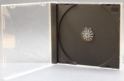 - Yens 50 STANDARD Black CD Jewel Case (Assembled)