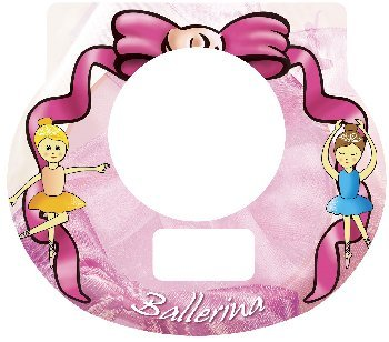 Tot Clock Faceplate: Ballerina Design