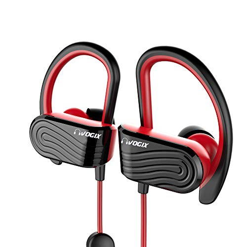 Vogix® Smasher H01 Sporty Bluetooth Wireless Headset with Mic (Red)
