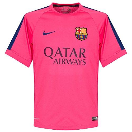 on sale 0bffd 8c287 2014-2015 Barcelona Nike Training Shirt (Pink) - Buy Online ...