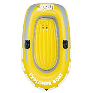 Barca Hinchable, Lancha Bote Inflable para Niños,150x100cm - Fácil ...