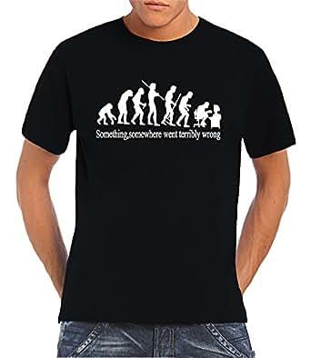 Touchlines - Camiseta de running para hombre, tamaño S, color negro