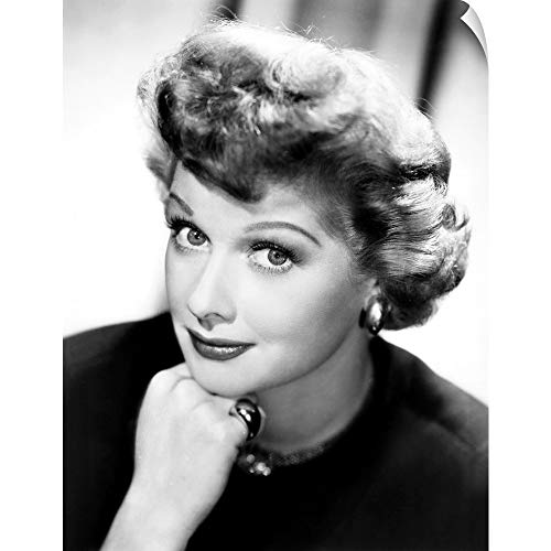 CANVAS ON DEMAND Wall Peel Wall Art Print Entitled Lucille Ball, Ca. Early 1950's -