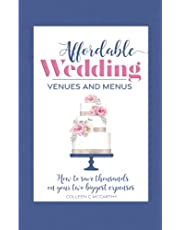 Affordable Wedding Venues & Menus: How to Save Thousands on Your Two Biggest Expenses