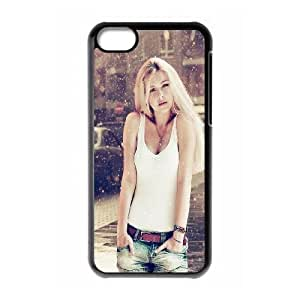 iPhone 5c Cell Phone Case Black Beautiful Sexy Woman Winter Snow Umvgn