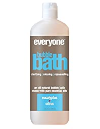 Everyone Natural Bubble Bath, Eucalyptus & Citrus, 20.3 Fl Oz