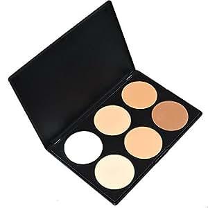 Contever® Profesional 6 Colores Paleta de Corrector maquillaje cosmético de la belleza #1